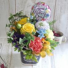 母の日アレンジメント【ビューティーポップ】M 【3,780円】